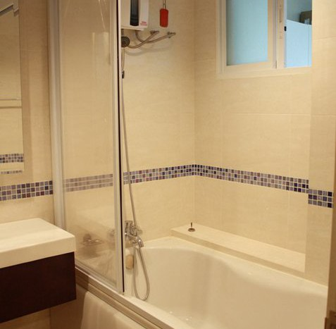 One bed condo for rent in Sathorn - Bathroom