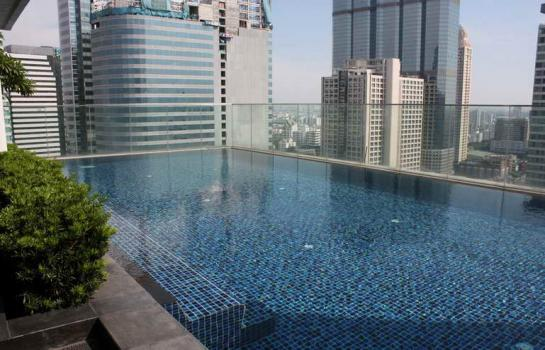 One bed condo for rent in Sathorn - Pool
