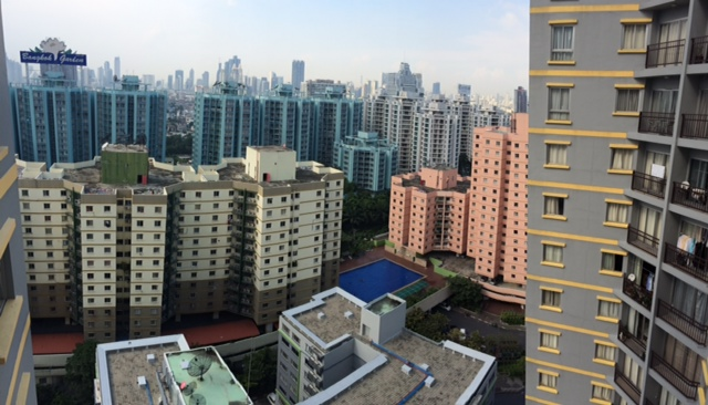 Two bed condo for rent in Sathorn - View