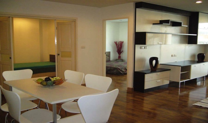 Three bed condo for rent in Thong lo - Dining room