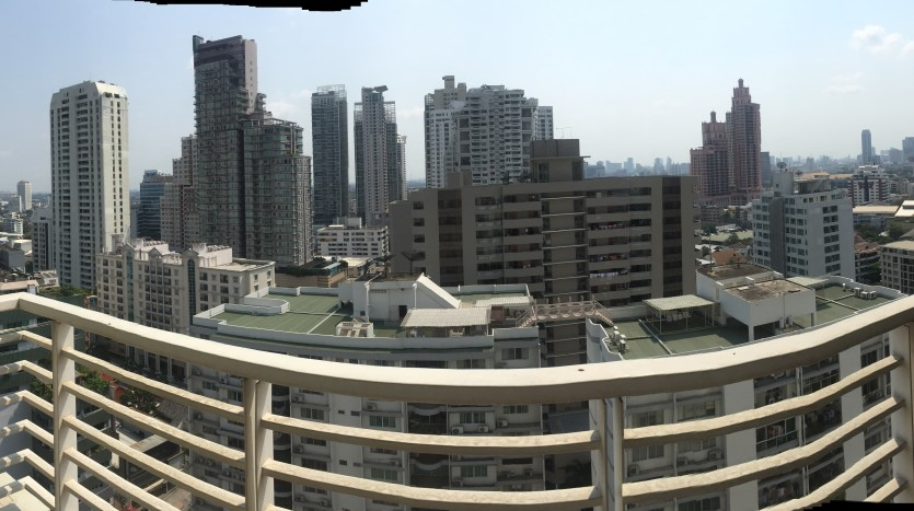 Two bed condo for rent in Phrom Phong - View