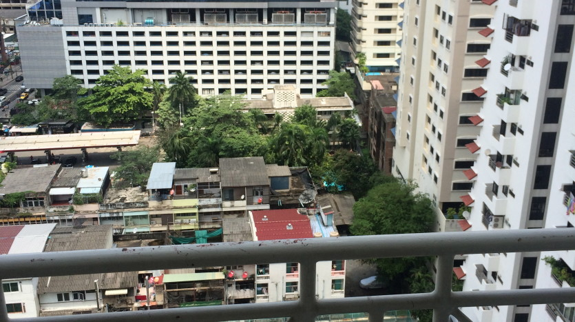 one bed condo for rent in Asoke - View