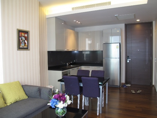 One bed condo for rent in Thonglor - Kitchen