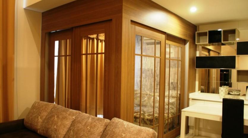 Duplex for rent in Asoke - Living room