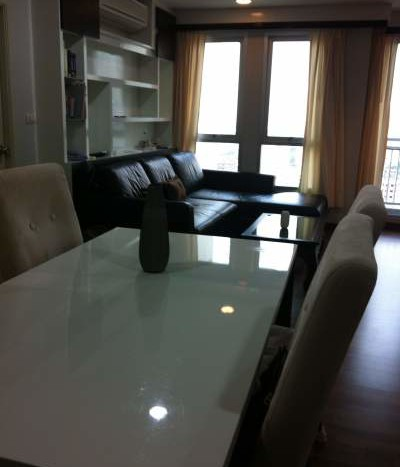 Two bed condo for rent in Ari - Dining