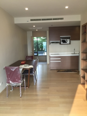 One bed condo for rent in Ari - Kitchen/dining area