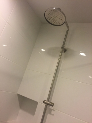 One bed corner unit for rent in Ari - shower
