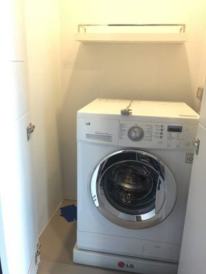 One bed corner unit for rent in Ari - Washing Machine