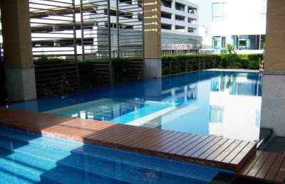 Two bed condo for rent in Ari - Pool