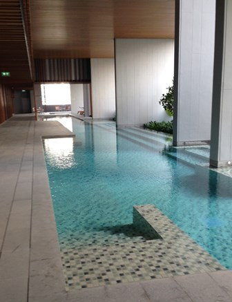 One bed condo for rent in Nana - Pool