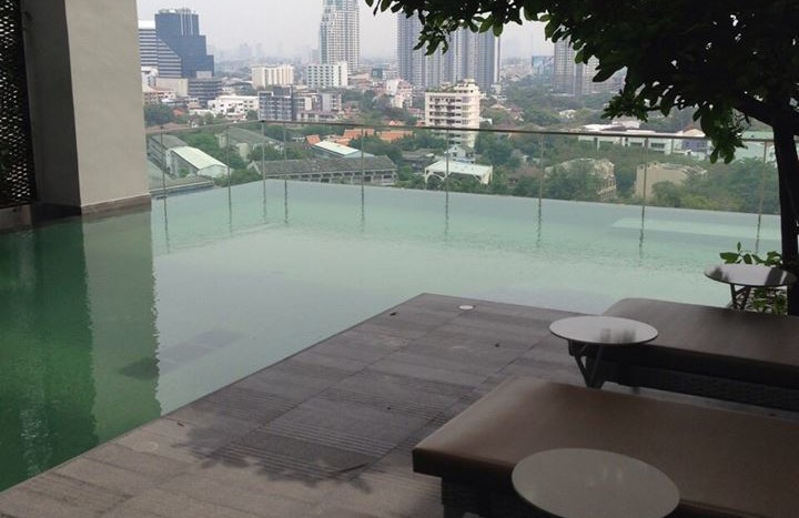 Duplex condo for rent in Thonglor - Swimming pool
