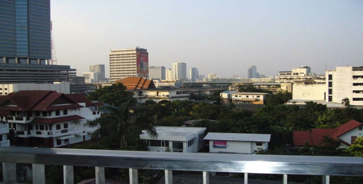 Three bed condo for rent in Thong lo - View from balcony