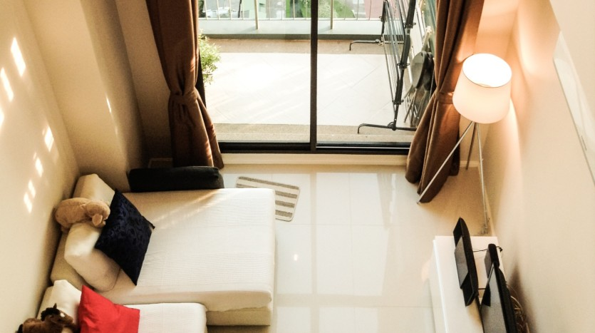 Two bed condo for rent in Asoke -  View
