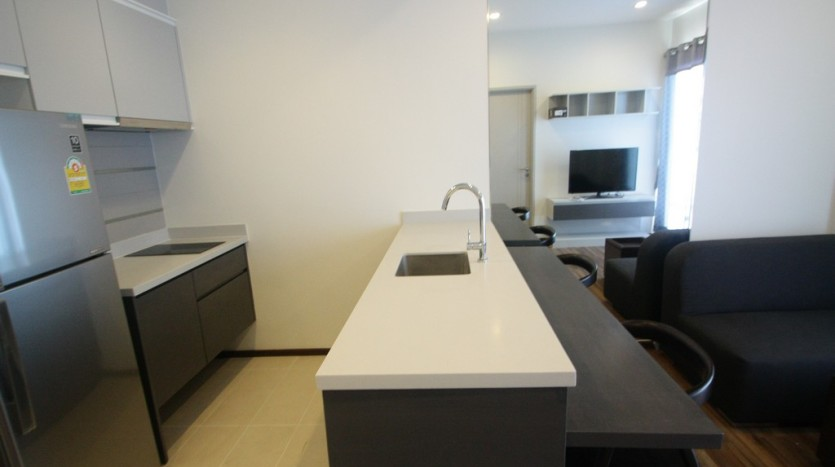 One bed condo for rent in Phra Khanong - Kitchen
