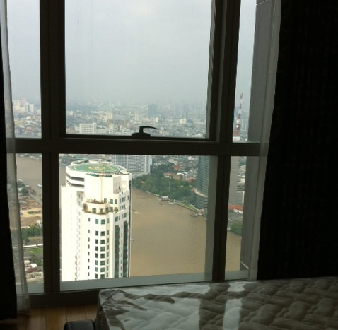 Two bed condo available for rent in Sathorn - Bedroom