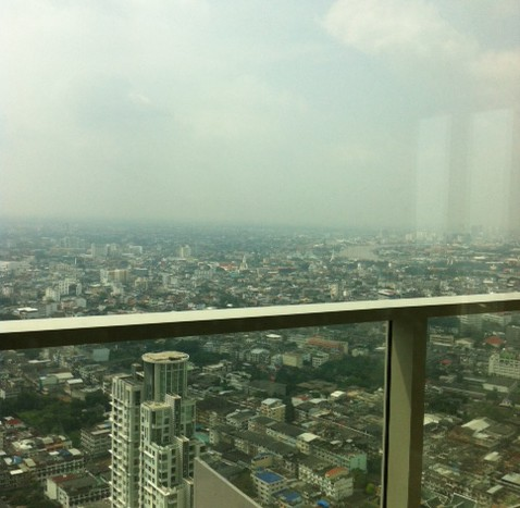 Two bed condo available for rent in Sathorn - View