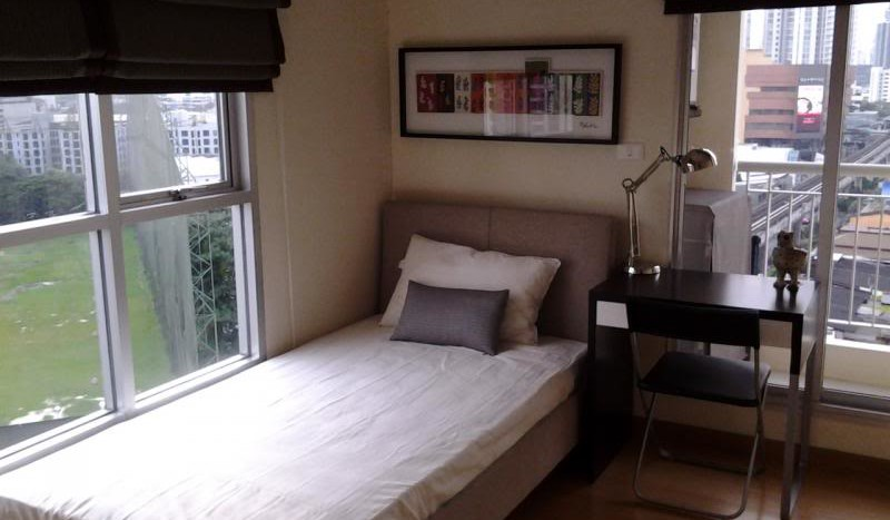 Two bed condo for rent in Ratchada - Second bedroom