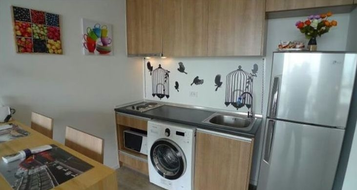 One bed condo for rent in Ladprao - Kitchen