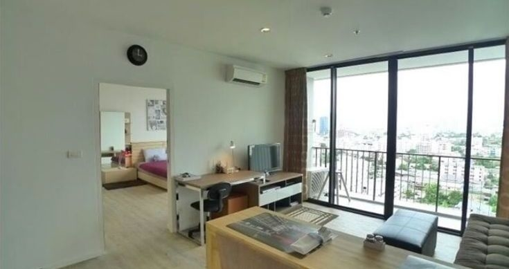 One bed condo for rent in Ladprao - Tv Room