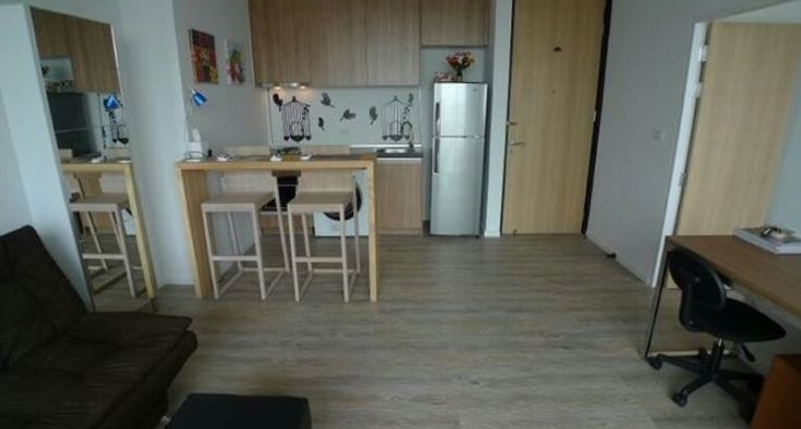 One bed condo for rent in Ladprao - Dining area