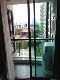 One bed condo for rent in Thong Lo - view