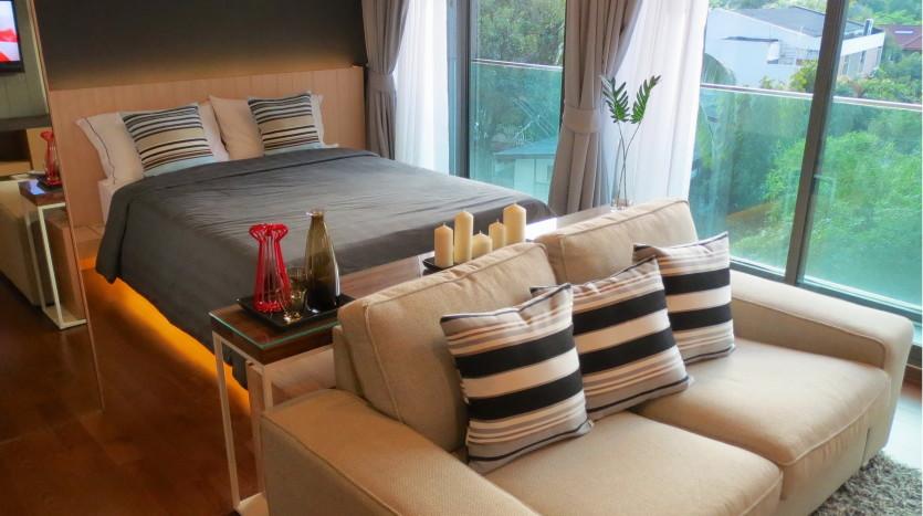 Studio for rent in Thong Lo - Bedroom