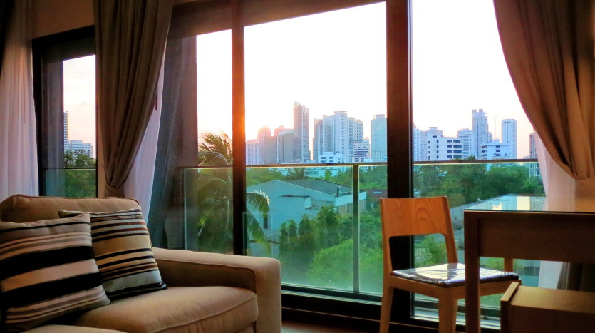 Studio for rent in Thong Lo - View