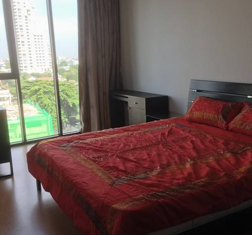 One bed condo for rent in Thong Lo - Master bedroom