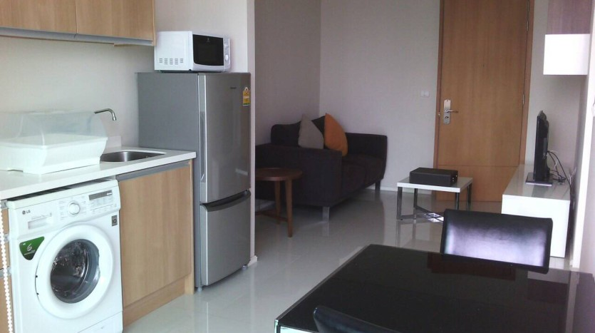One bed condo for rent in Asoke - Unit