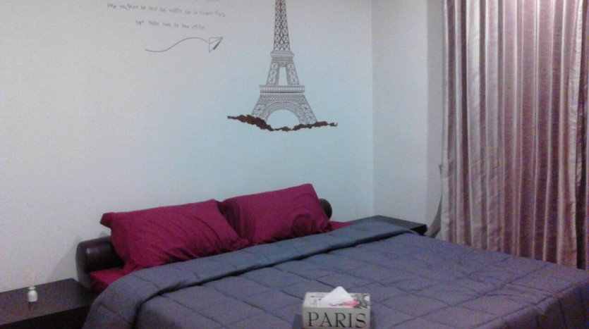 Two bedroom condo for rent in Asoke - Second bedroom