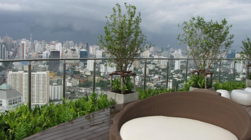 One bedroom condo for rent in Phrakanong - View