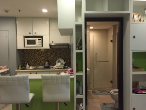 One bedroom condo for rent in Phrakanong -Kitchen