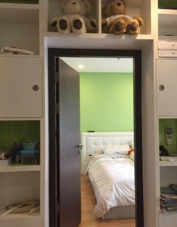 One bedroom condo for rent in Phrakanong - Living room