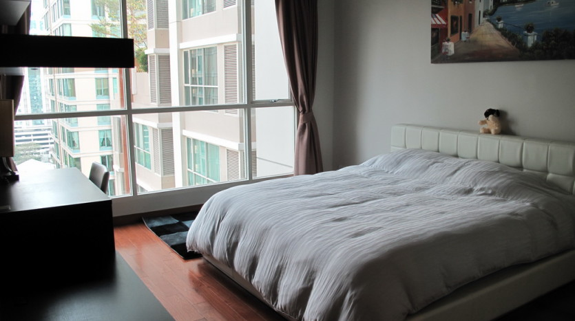 One bed for rent in Chidlom - Bedroom