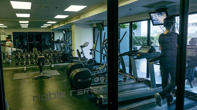 One bedroom condo for rent in Ari - Fitness
