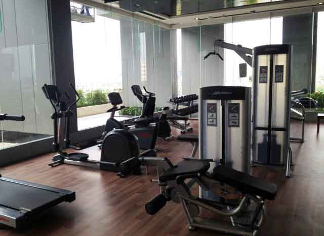 One bed condo for rent in Thong Lo - Fitness Room