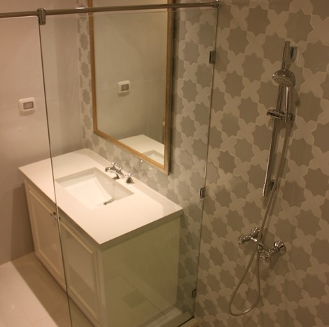 One bed condo for rent in Phrom Phong - Bathroom