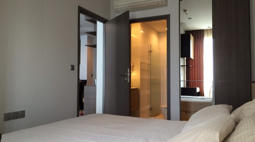 One bed condo for rent in Thong Lo - Bed