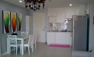One bed condo for rent in Thong Lo - Kitchen