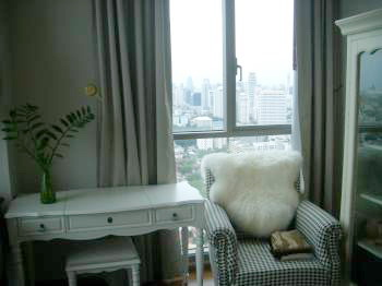 One bed condo for rent in ThongLor - City view2