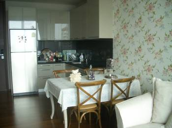 One bed condo for rent in ThongLor - Dining