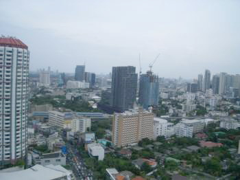 One bed condo for rent in ThongLor - City view