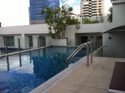 One bedroom condo for rent in SanamPao - Pool