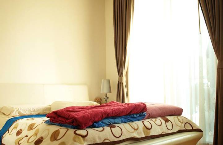 Studio for rent in Ratchatewi - Bedroom