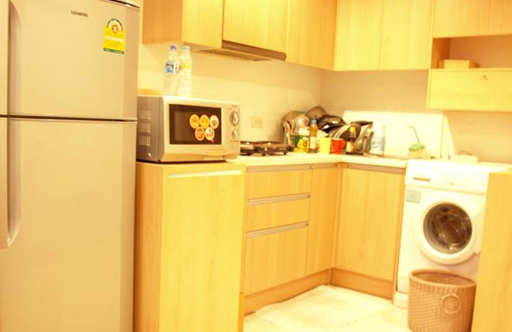 Studio for rent in Ratchatewi - Kitchen