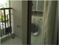 One bed condo for rent in Thong Lo - Balcony