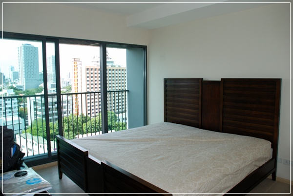 One bed condo for rent in Thong Lo - Bedroom