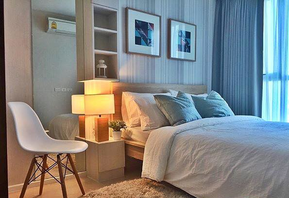 One bedroom condo for rent in Sathorn - Bedroom