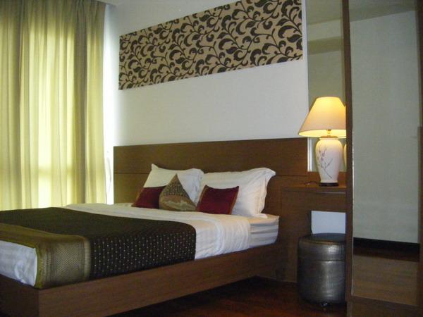 One bedroom condo for rent in Nana - Bedroom
