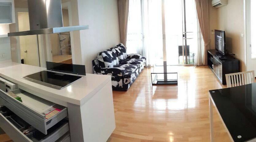 Two bedroom condo for rent in Ari - Condo layout